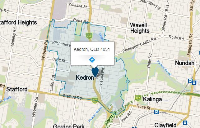 Handyman Kedron. Zeal Handyman service area