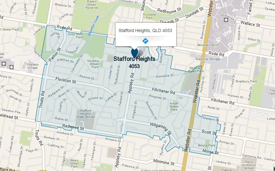 Handyman Stafford Heights. Zeal Handyman service area